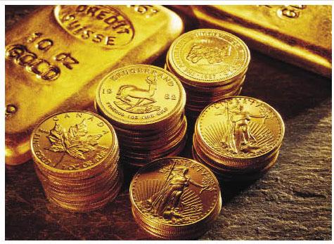 النقود الذهبية في ببجي